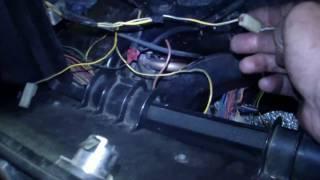 видео ВАЗ 2107 инжектор схема электрооборудования с блоком предохранителей