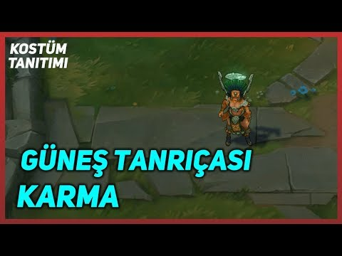Sun Goddess Karma (Skin Preview) League of Legends