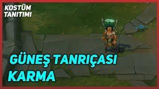 Sun Goddess Karma (Skin Preview) League of Legends