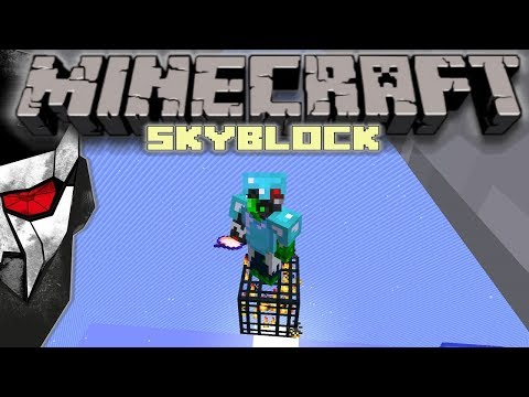 Minecraft Skyblock - Our FIRST Spawner! #5