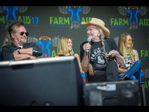 Farm Aid 2017 Press Event With Willie Nelson, Neil Young, John Mellencamp, Dave Matthews & More
