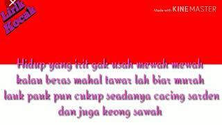 Pujiono Budidaya Kalajengking    Lirik