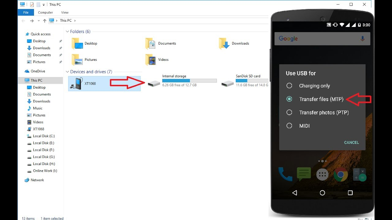 How to Fix Android Phone Not Detecting in Windows PC (No Internal External  Storage)