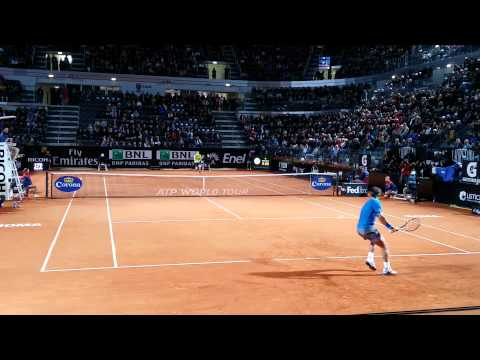 Internazionali Tennis Roma 2014: Nadal vs Murray best point