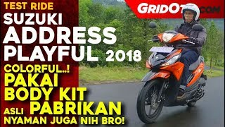 Suzuki Address Playful | Test Ride Review | GridOto