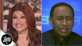 'Rachel, what are y๐u doing to me?!' - Stephen A. reacts to names Knicks are considering | The Jump