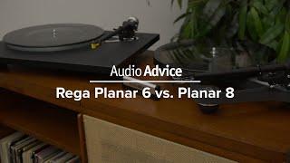 Rega Planar 6 vs Planar 8 Turntable Comparison