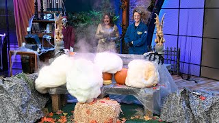 Halloween Science Experiments: Spooky Foaming Pumpkin Patch + More