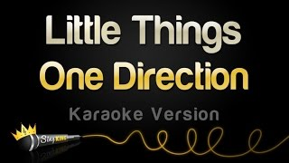 One Direction - Little Things (Karaoke Version)