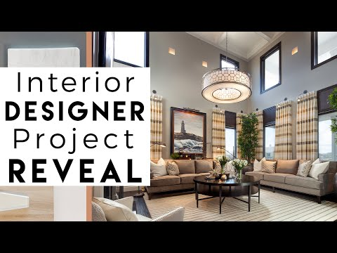 Interior Design | Beautiful Homes In California | Reveal #4   YouTube