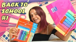 BACK TO SCHOOL 2019 #1 * co kupiłam do szkoły? * MEGA PRZYBORY Z INTERNETU / Amelie