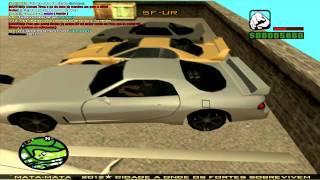 Gameplay Multiplayer GTA San Andreas SA - MP