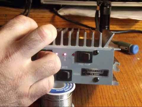 Linear amplifier repair - YouTube