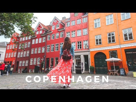 I Was Not Expecting This! // Backpacking Europe - Copenhagen, Denmark