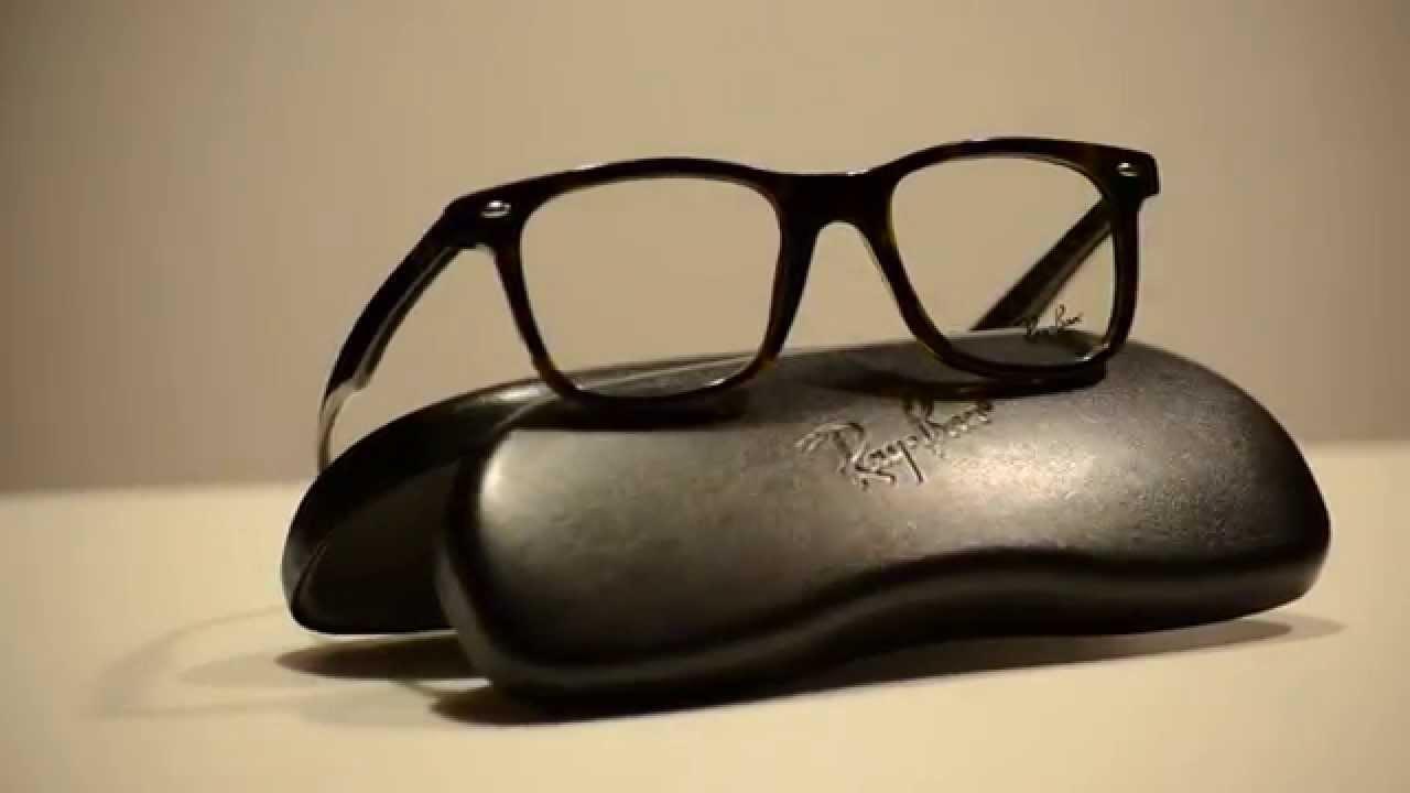 1bf33970518 Ray Ban Eyeglasses RX5428 2012 Dark Tortoise RX 5428 - YouTube