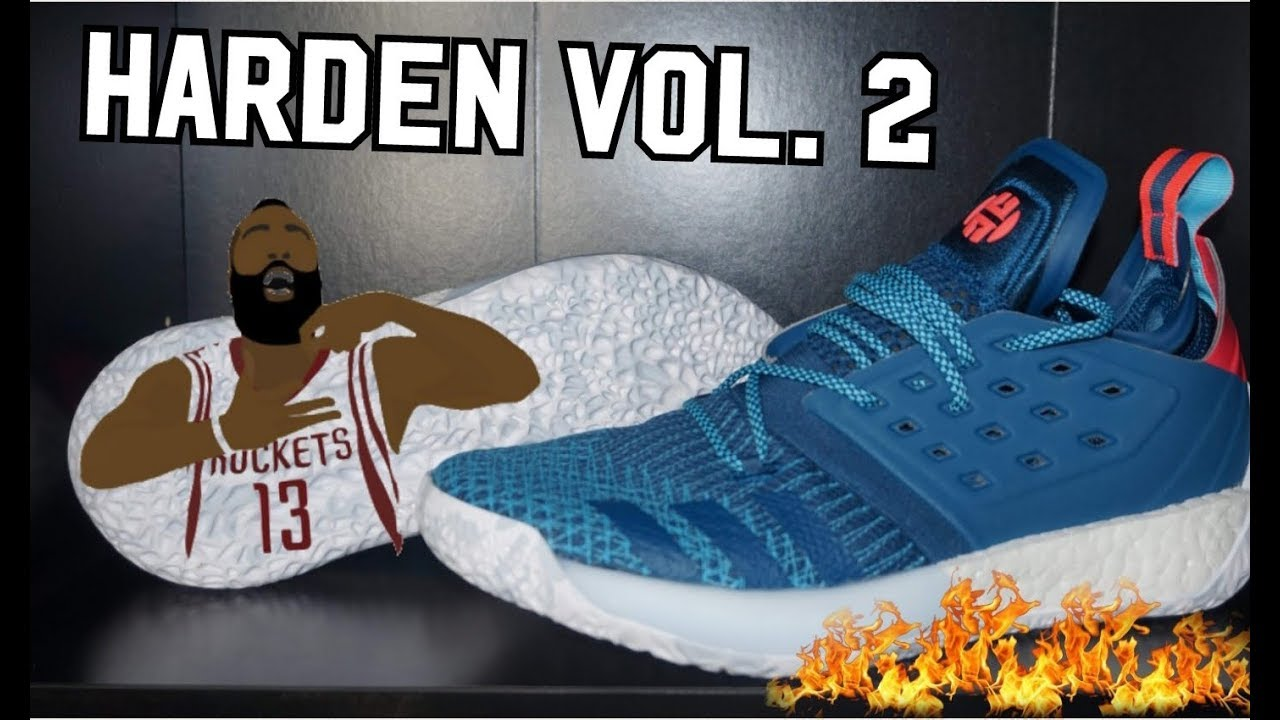 264c9d314639 Harden Vol. 2 Adidas StepBack colorway DETAILED REVIEW! - YouTube