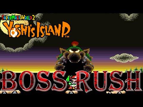 Yoshi's Island - Boss Rush (All Boss Fights, No Damage)