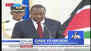 Rais Emmanuel Macron azuru Kenya kwa mara ya kwanza
