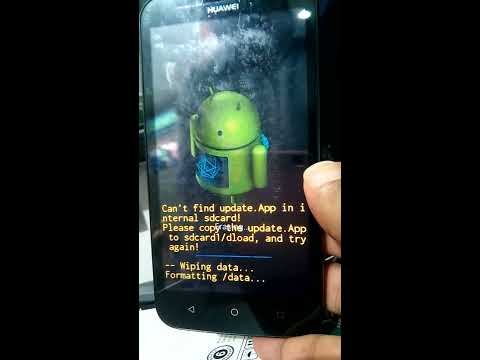how to hard reset huawei Y625-U32