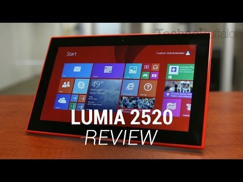 Lumia 2520 Review
