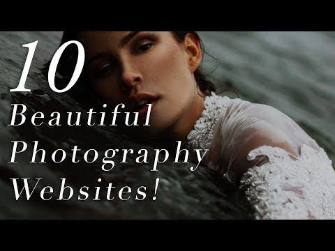 10 PHOTOGRAPHY WEBSITES DESIGNS YOU SHOULD COPY! (2019)