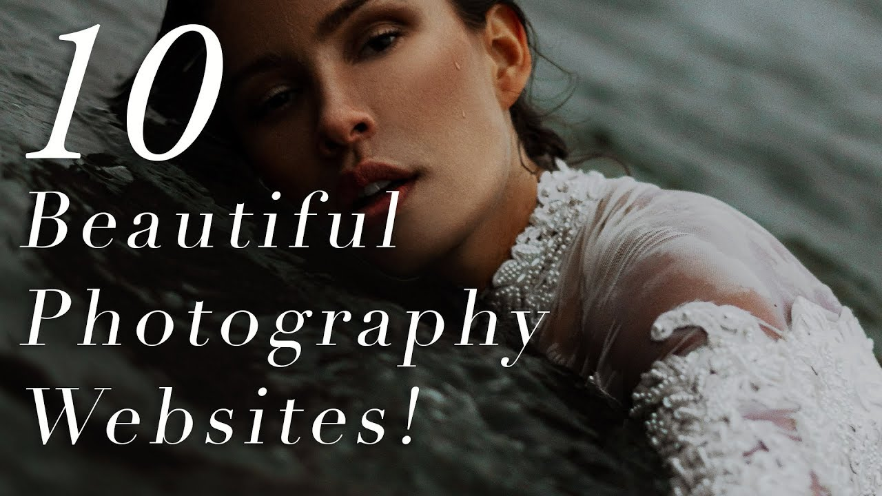 10 PHOTOGRAPHY WEBSITES DESIGNS YOU SHOULD COPY! (2019)