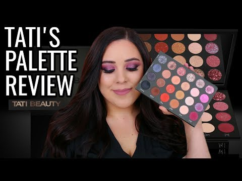 TATI BEAUTY EYESHADOW PALETTE REVIEW! WORTH THE HYPE? thumbnail