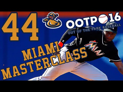 Miami Masterclass Ep 44 - The Ending | Out Of The Park Baseball 2016 (@ootpbaseball) #LetsPlay