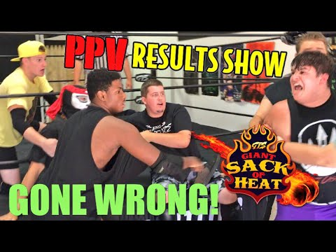 GTS PPV RESULTS SHOW GONE WRONG! WILD INTERCONTINENTAL CHAMPIONSHIP MAIN EVENT MATCH!