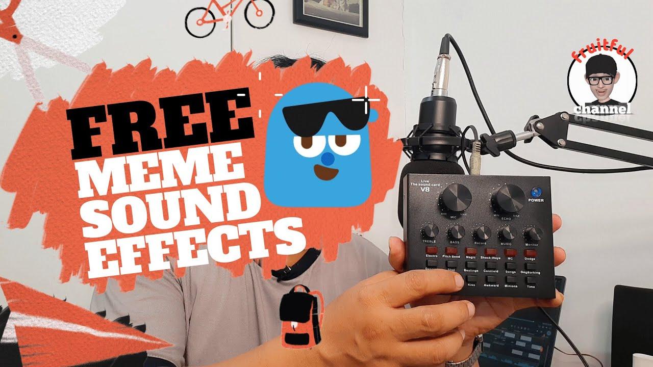 FREE Meme Sound Effects - YouTube