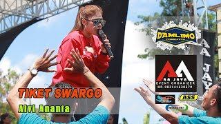 Download Mp3 Tiket Swargo  Versi Samboyo  - Alvi Ananta - Aa Jaya Live Damlimo