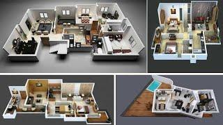 3D Cozy Home Plans 2 Bedroom|| home design ideas|| home designs|| house design||