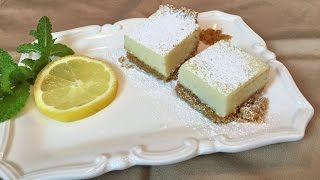 Creamy Lemon Squares - Lynn's Recipes