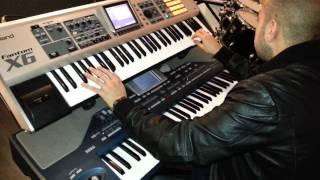 Demo Armenian sounds for Roland Fantom X6