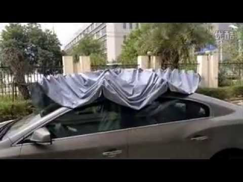 Automatic Car Sunshade With Remote Control Youtube