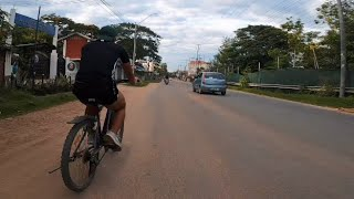 Evening cycle ride with Go pro 8 | Dimapur , Nagaland | Lockdown ride