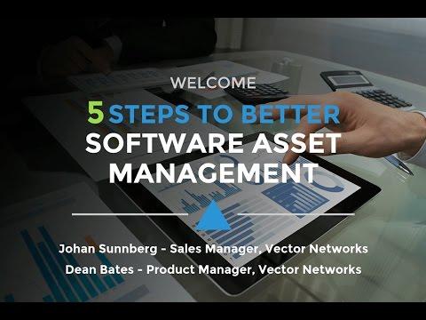 Webinar - 5 steps to better Software Asset Management