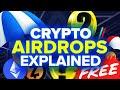 Crypto Airdrops Explained | FREE CRYPTO (2021)