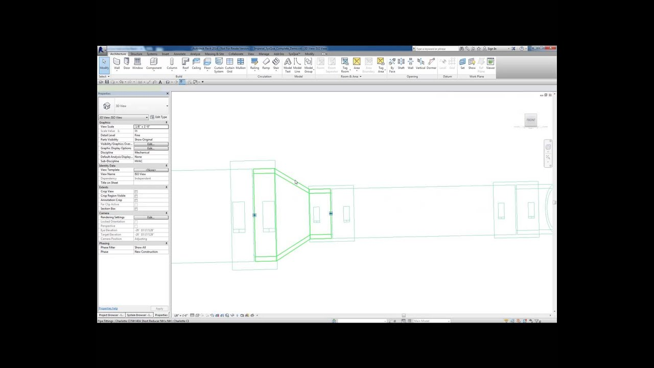SysQue Add-in For Revit MEP