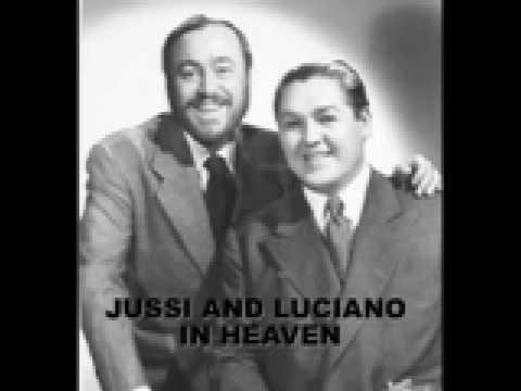 nessun dorma Jussi Bjoerling and Luciano Pavarotti