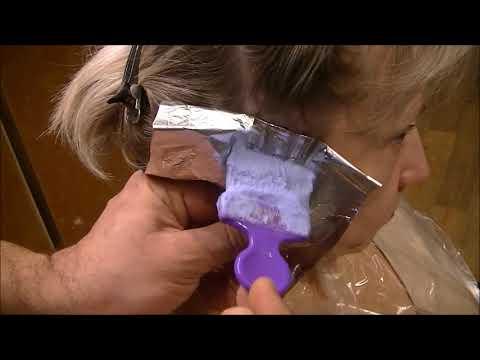 Как делать прикорневое мелирование