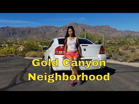 Driving Around Gold Canyon Arizona with BBOX Dash Cam!