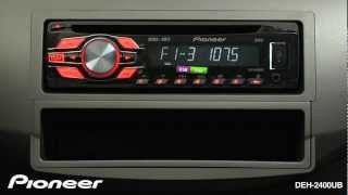 'How To'- DEH-2400UB- Radio Presets