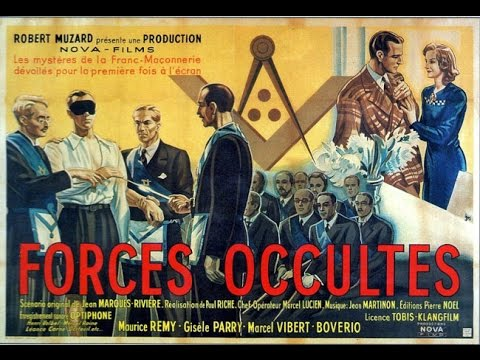 Film completo Forze Occulte (1943) FR sub ENG - Denounce against Freemasonry