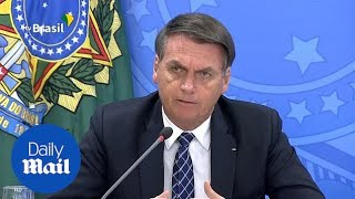 Bolsonaro Says Reports Of Rise Of Deforestation Meant To 'harm' Him