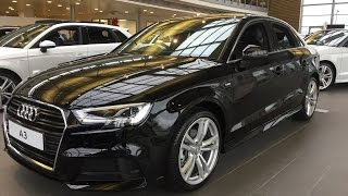 all new 2017 audi a3 saloon exterior and interior review