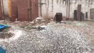 Video: Granizo en Metán (Salta)