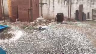 Video: Granizo en Metán (Salta)