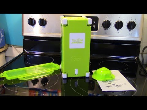 Product Review Nicer Dicer Magic Cube With  Chili