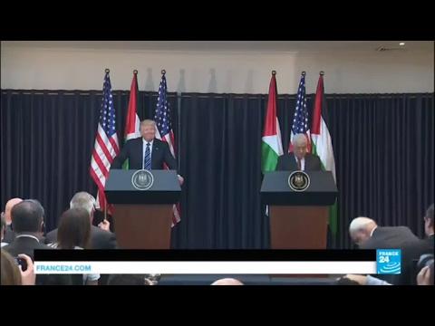 REPLAY - Discours de Donald Trump et Mahmoud Abbas en Cisjordanie